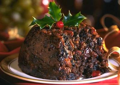 Foto Puding Coklat Natal