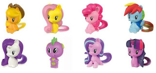 2018 McDonalds's My Little Pony Cutie Mark Crew Happy Meal Toys