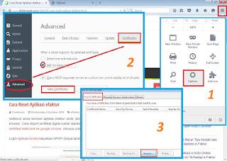 Cara Install Sertifikat Elektronik di Mozilla Firefox