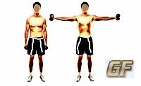 cara membesarkan otot lengan dengan lateral raise