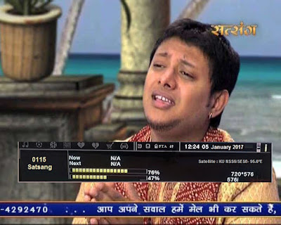 Satsang TV Temp. FTA from SES8 Satellite, dd direct dth users can tune it.