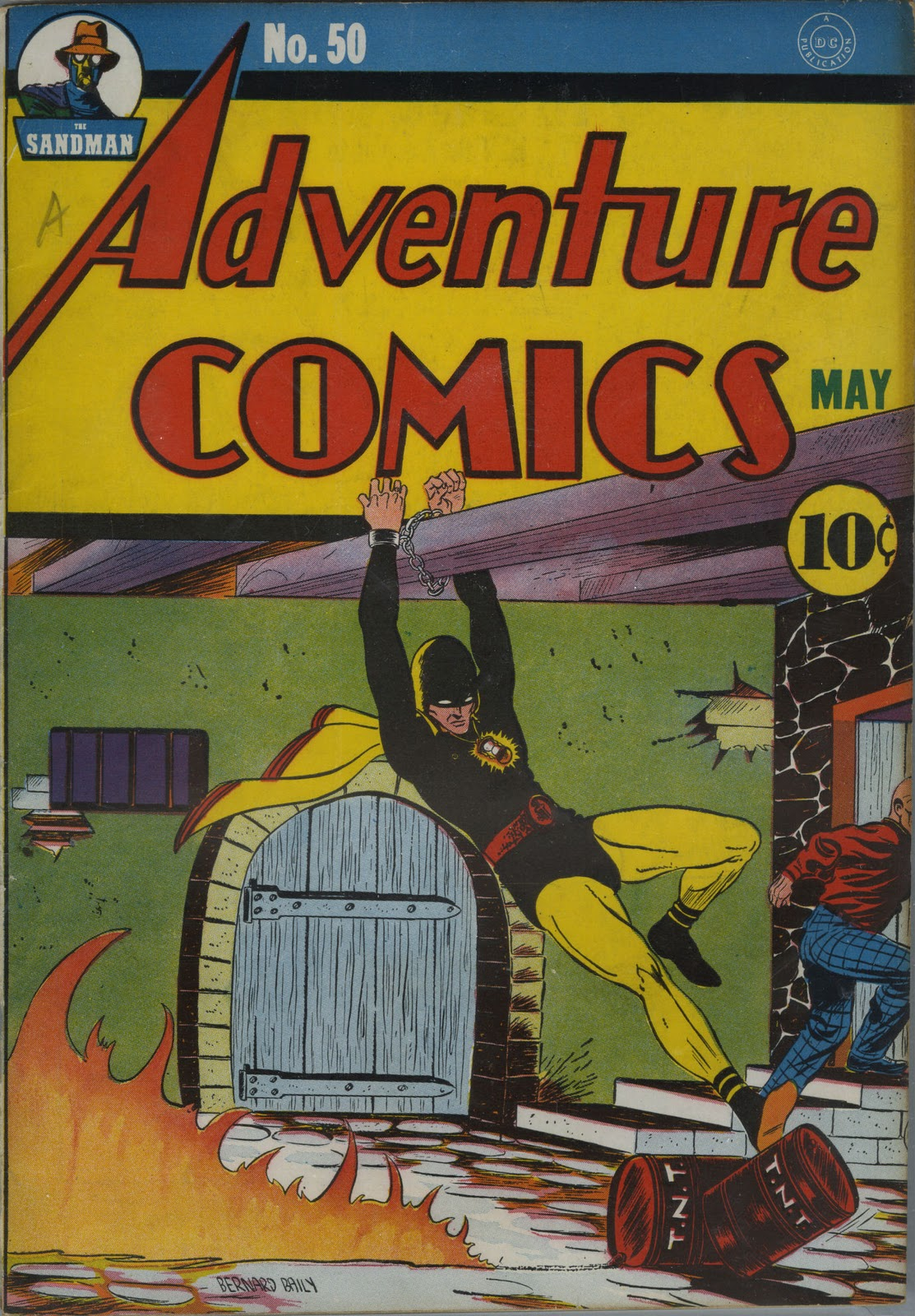 days of adventure adventure comics 50 may 1940. Black Bedroom Furniture Sets. Home Design Ideas