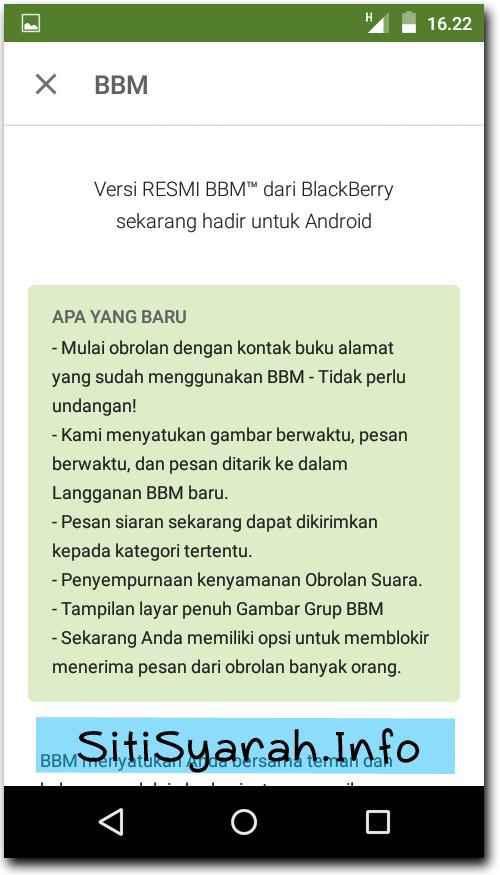 Download BBM terbaru v2.8.0.21