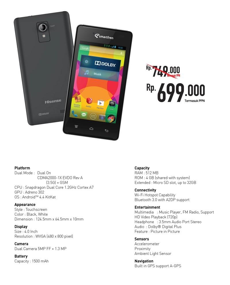 Dual GSM Andromax G [AD687G] - ALIANDRO ID
