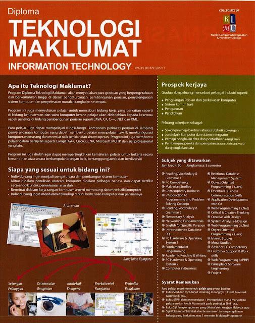 Diploma Teknologi Maklumat
