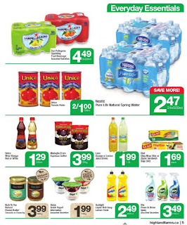 Highland Farms Flyer Start Fresh valid August 17 - 23, 2017