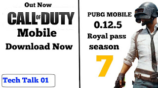 Call Of Duty Mobile Download Now ! PUBG 0.12.5 Update