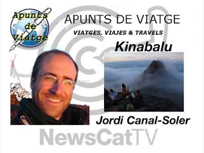 Kinabalu als Apunts de Viatge de Newscat TV
