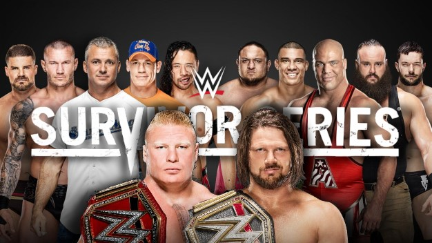 WWE SURVIVOR SERIES 2017 POSTER