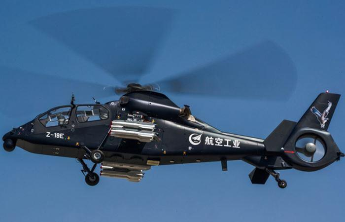 Heli Serang Ringan Z-19E China