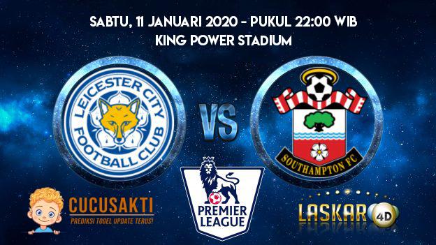 Prediksi Skor Bola Leicester City vs Southampton 11 Januari 2020