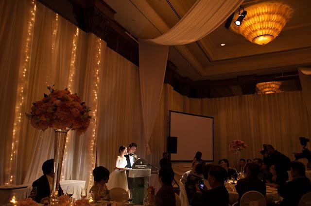 wedding moment fairy lights