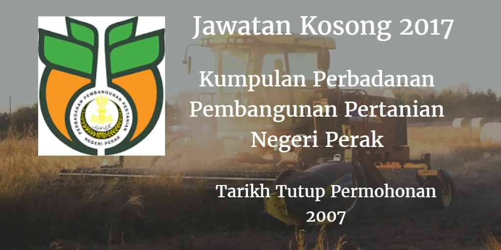 Jawatan Kosong Kumpulan PPPNP 2017