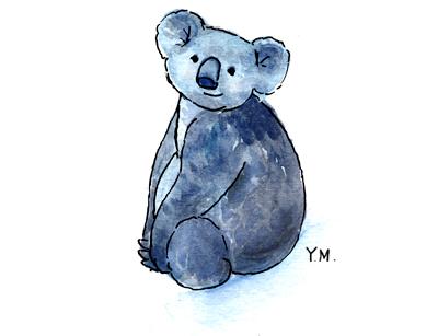Koala by Yukié Matsushita