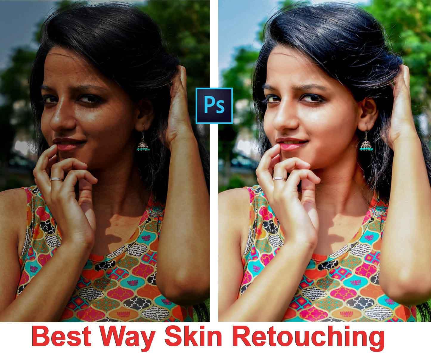Skin retouching best way skin retouching technique in photoshop skin retouching best way skin retouching technique in photoshop tutorial baditri Image collections