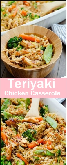 #Teriyaki #Chicken #Casserole