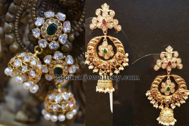 Large Pachi Jhumkas from Parnicaa