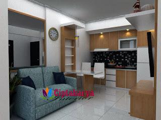 design-interior-furnished-apartemen-kemayoran
