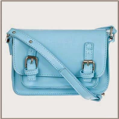 Spurr Blue Cross Body Bag