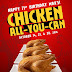 Max's Chicken All You Can 2016 Promo is back, as Max's Chicken turns 71