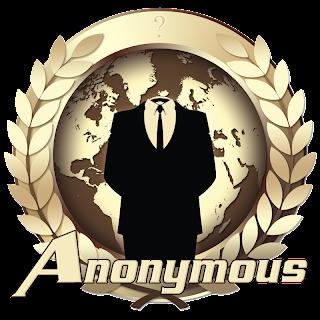 Logo Emblem Anonymous