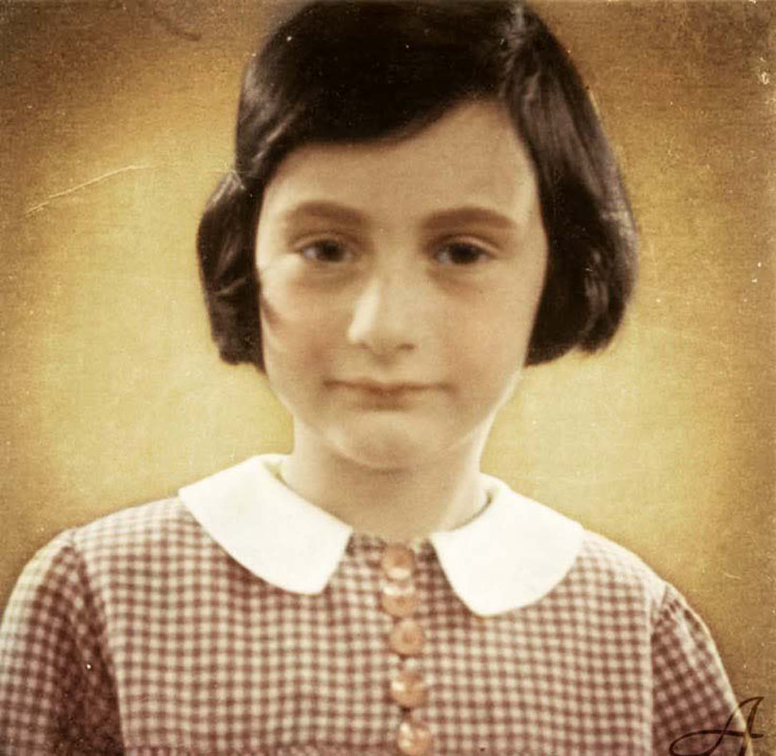 Anne Frank, undated.