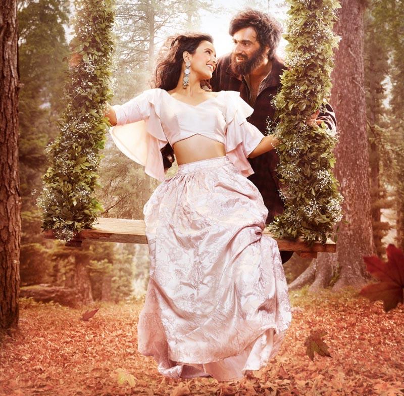 A still from upcoming movie Laila Majnu