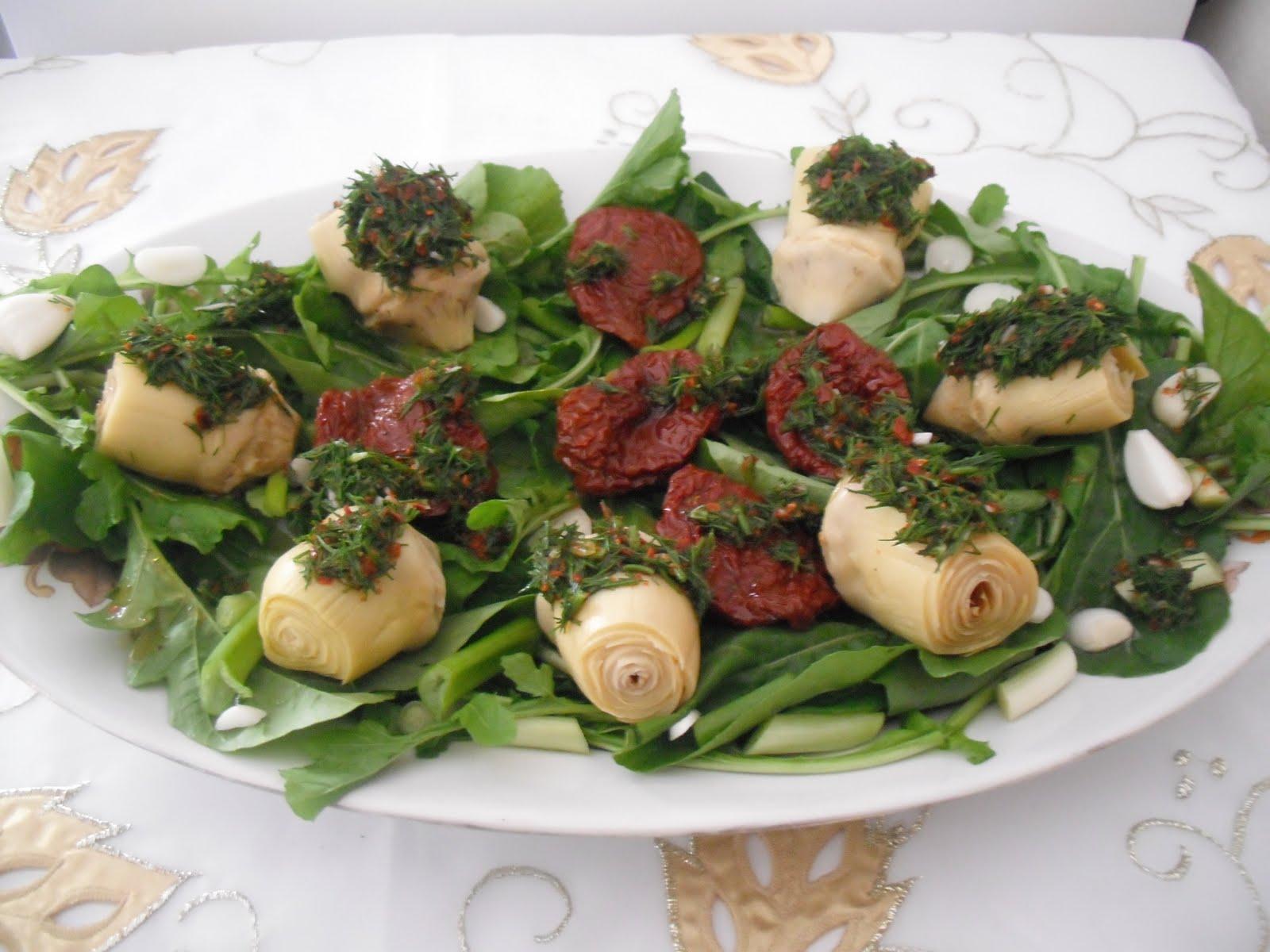 Enginar Kalbi Salatası