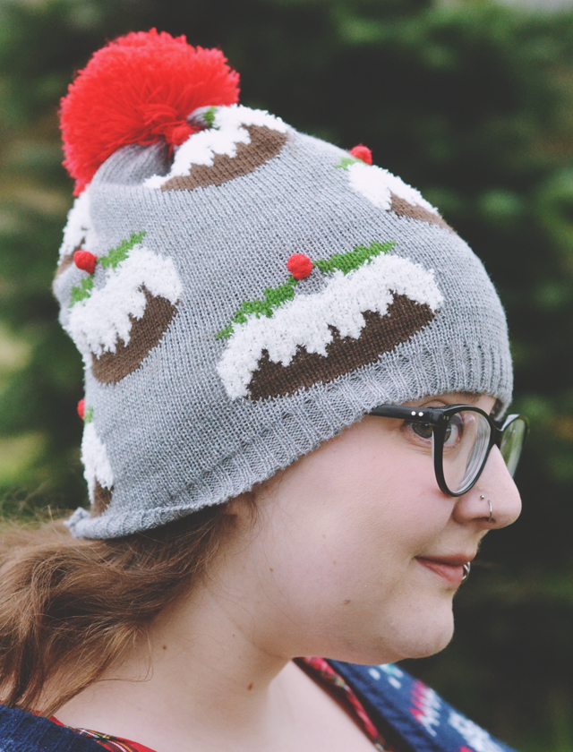 Primark Christmas pudding hat