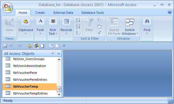 Me Access: Function to Check If a Table Exists in Access