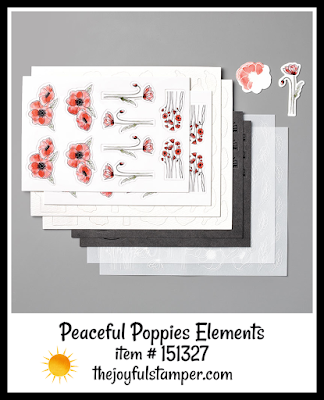 Peaceful Poppies Elements | page 25 of Stampin' Up! Mini Catalog | shop with Nicole Steele The Joyful Stamper