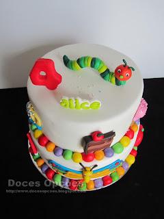 bolo aniversário doces