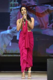 sanjana hot stills at sardaar gabbar singh audio launch event