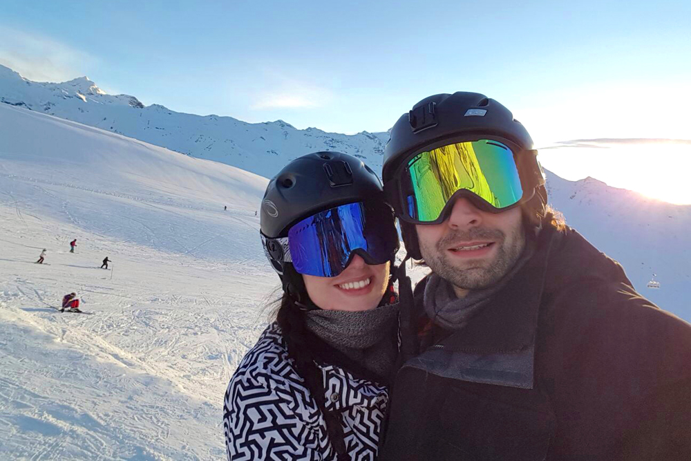 Skiing in Val Thorens, France - travel & lifestyle blog