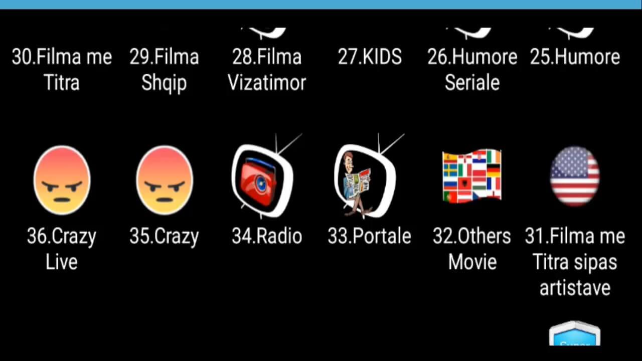 التطبيق الخرافي mega iptv لمشاهدة اكثر من 5000 قناة مشفرة و فيلم مدى