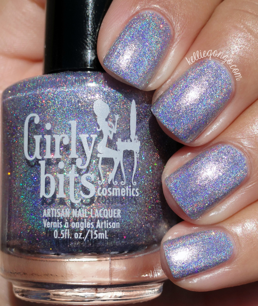 Girly Bits Cosmetics Smiling Lavender