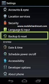 Як зняти графічне блокування на Sony Xperia Z