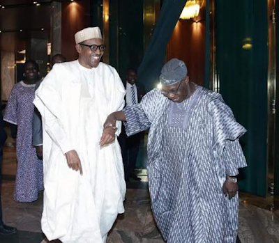 pictures from Obasanjo's visit to the state house| kokolevel
