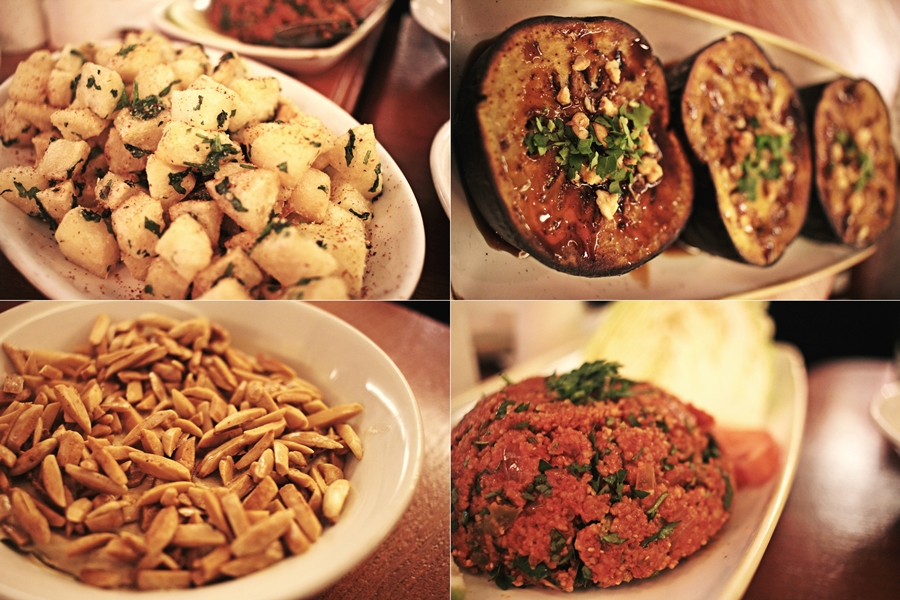 almond hummus armenian food beirut onno
