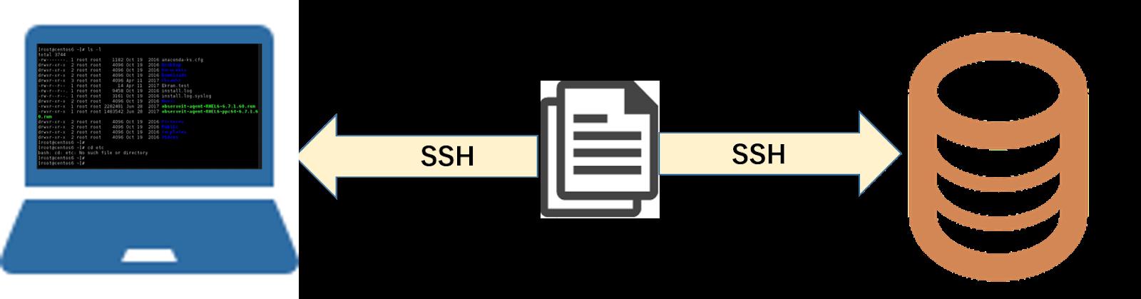 ssh ファイル 転送