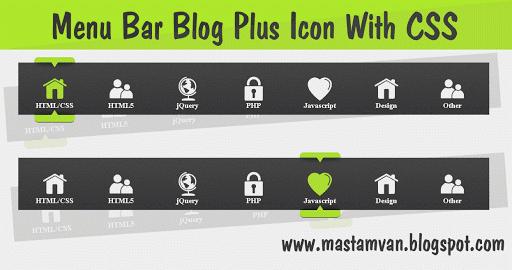 menu bar css icon