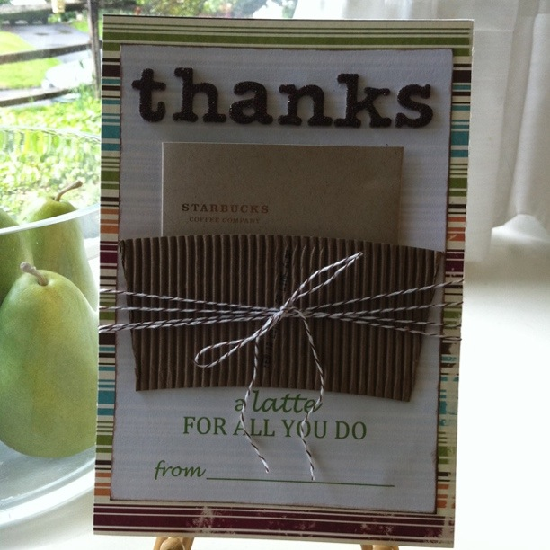 Hillary Chybinski How To Create A Thank You Gift Card Holder Card