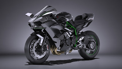 2016 Kawasaki Ninja H2R side View