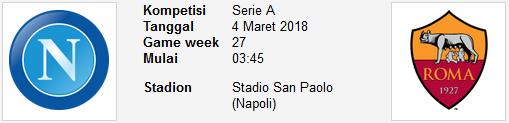 Kemenangan yang akan berpihak untuk anggota yang loyal berkunjung di Blog Parlay Seri A LIGA ITALIA NAPOLI Vs AS ROMA