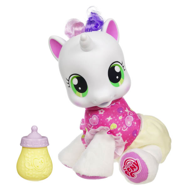 My Little Pony So Soft Newborn Apple Sprout Brushable Pony