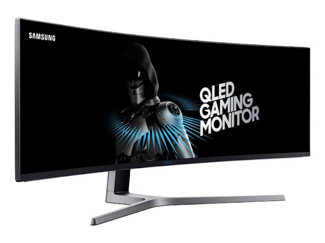 """Samsung presenta su monitor """"súperultrapanorámico"""": curvo, QLED, 144 Hz y un interminable formato 32:9"""