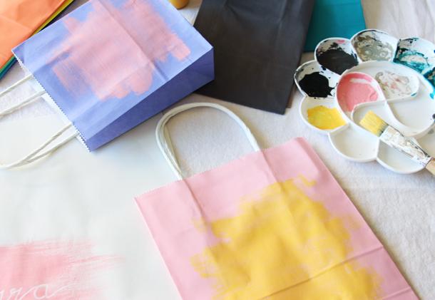 binedoro Blog, Papiertüten gestalten, DIY, Handlettering, Sprüche