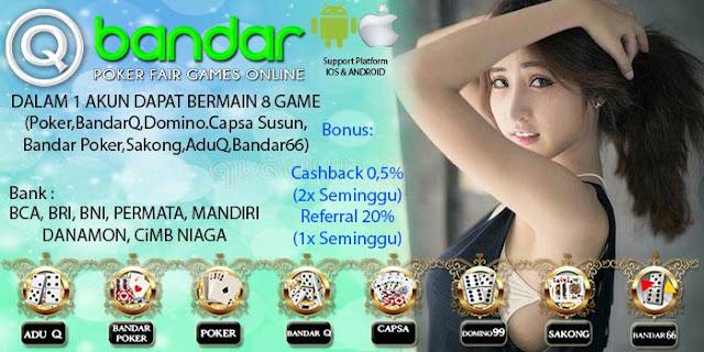Image of Trik Menang Judi bandarQ Online Qbandar