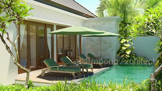 Gambar Desain Rumah: Desain Villa Type 95 Bu Riani