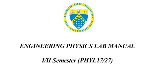 Engg. Physics Lab Manual